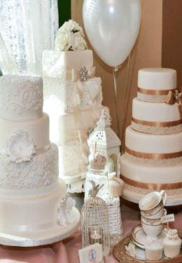 Wedding Cakes and Sweet Tables