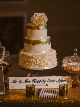 Stunning 3 Tier Wedding Cake