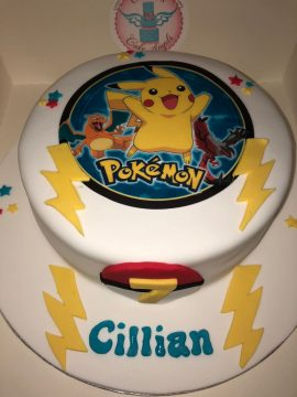 Pokeman Birthday Cake