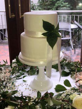 Simple modern wedding cale