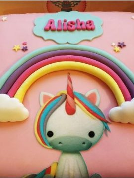 Unicorn Childrens Birthday Cake
