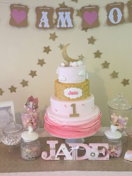 4 Tier Childrens Birthday Cake