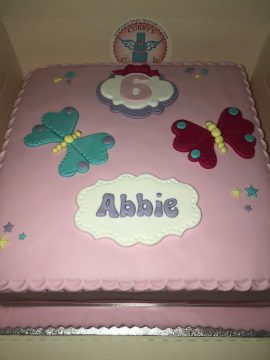 Girls Birthday Cake