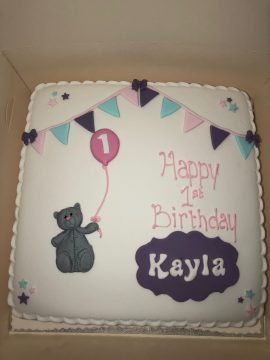 Bear Childrens Birthday Cake