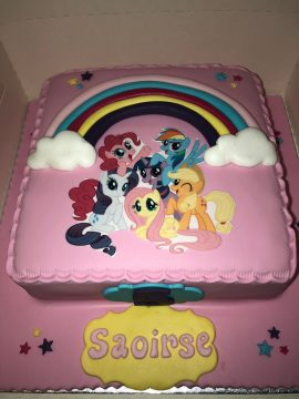 My Little Pony Children's Birthday Cake